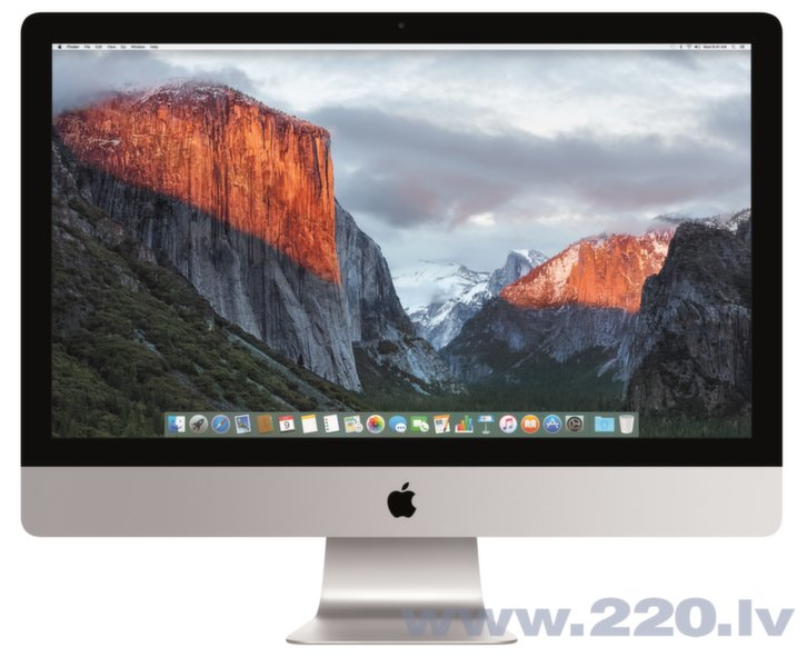 "Apple iMac 27"" 5K MK462 ENG (Late 2015) цена и информация 