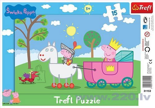 "Пазл Trefl Magic Decor ""Peppa Pig"" 15 шт."