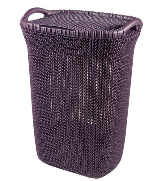 Veļas kaste Curver Knit, 57 l cena un informācija | Veļas grozi un mantu uzglabāšanas kastes | 220.lv