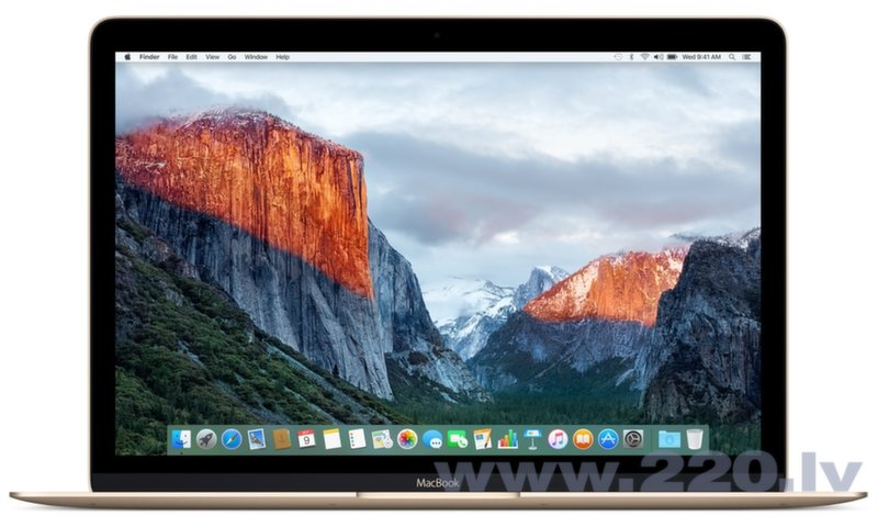 "Apple MacBook 12"" Gold MLHF2 ENG (Early 2016) цена и информация 