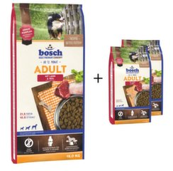 Sausa barība Bosch Petfood Adult Lamb & Rice (High Premium) 15kg+2kg!