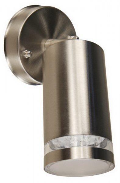 Sienas LED lampa, 80x80x170 mm cena un informācija | Āra apgaismojums | 220.lv