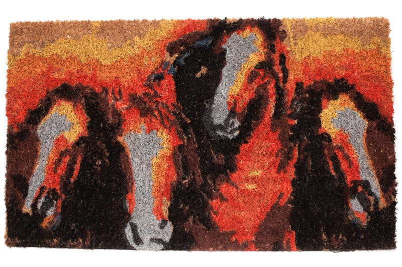 Durvju kājslauķis Malai recta, 45 x 75 cm cena un informācija | Kājslauķi | 220.lv