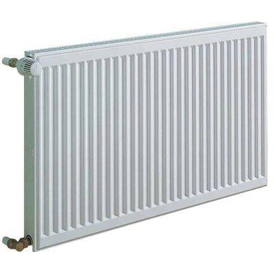 KERMI radiators 0.55 x 0.5 m, dubultais, sānu savienojums cena un informācija | Apkures radiatori | 220.lv