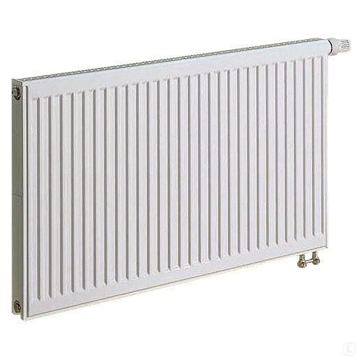 KERMI radiators 0.5 x 1 m, dubultais, apakšā savienojums ar iebūvētu vārstu. cena un informācija | Apkures radiatori | 220.lv
