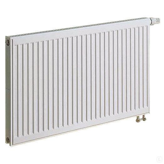 KERMI radiators 0.5 x 1.8 m, dubultais, apakšā savienojums ar iebūvētu vārstu. cena un informācija | Apkures radiatori | 220.lv