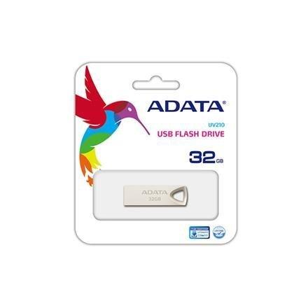 USB atmiņas karte A-data UV210 32GB USB 2.0 Sudrabaina cena
