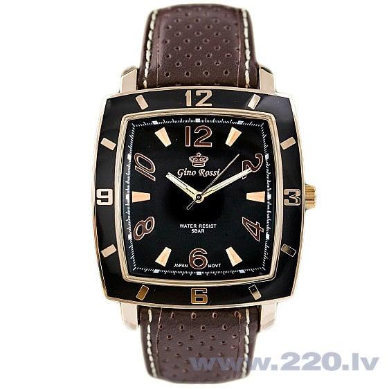 Vīriešu pulkstenis Gino Rossi GR7659RJ cena un informācija | Vīriešu pulksteņi | 220.lv