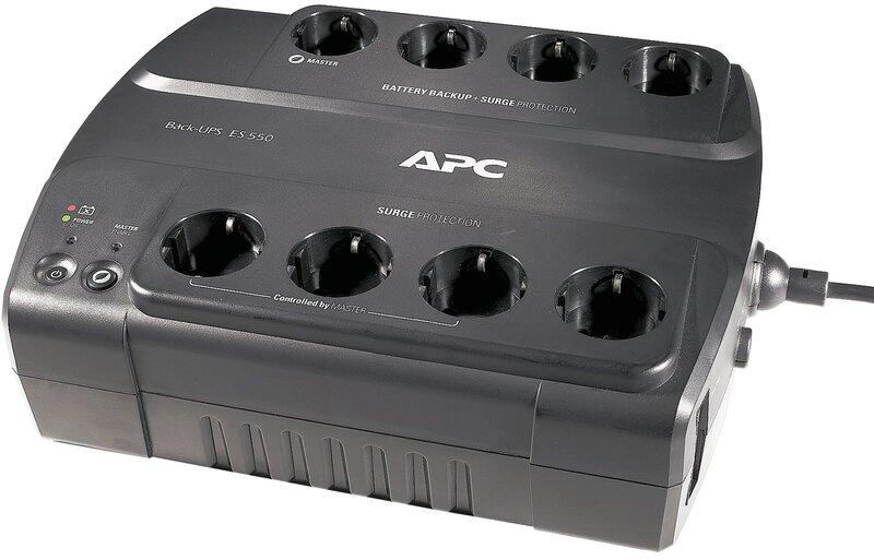 APC Back-UPS 550 BE550G-FR Schuko cena un informācija | UPS- Nepārtrauktās barošanas bloki | 220.lv