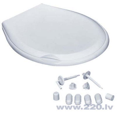 Пластмассовая крышка для унитаза Nova SC105 цена и информация | Podu vāki | 220.lv