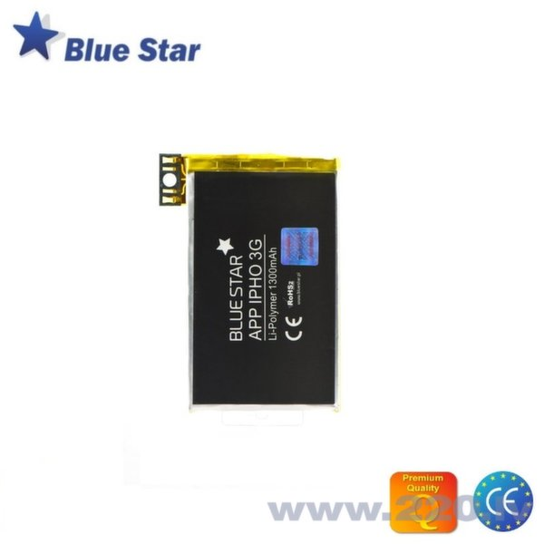 BlueStar Akumulators Apple iPhone 3G Li-Ion 1300 mAh Analogs 616-0347 cena un informācija | Akumulatori | 220.lv