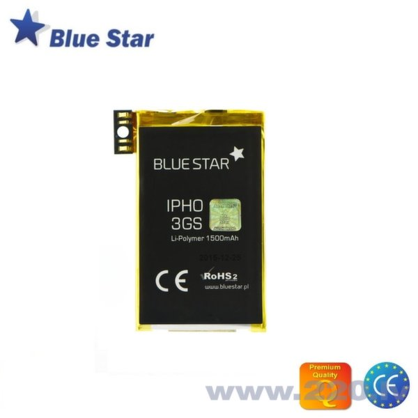 BlueStar Akumulators Apple iPhone 3GS Li-Ion 1500 mAh Analogs 616-0435 cena un informācija | Akumulatori | 220.lv