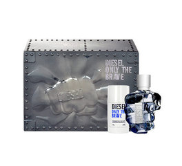 Komplekts Diesel Only The Brave: EDT 125ml + dezodorants 75ml