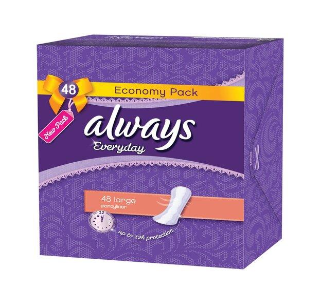 Higiēniskās paketes Always Large 48 gab cena un informācija | Intīmā higiēna | 220.lv