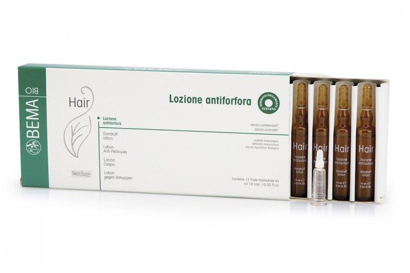 Pretblaugznu losjons ampulās Bema Bio Hair 10 x 10 ml cena un informācija | Matu uzlabošanai | 220.lv