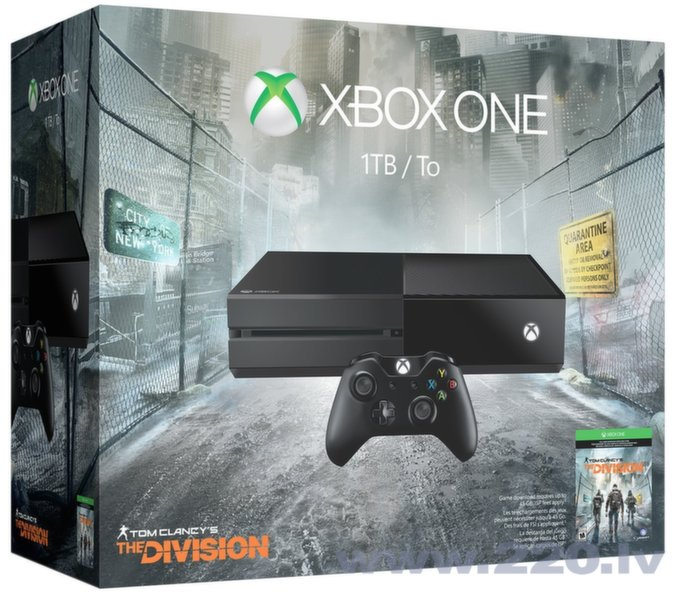 Microsoft Xbox One 1TB + Tom Clancy's The Division цена и информация | Spēļu konsoles | 220.lv