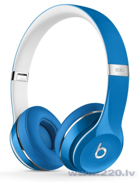 Beats By Dre Solo 2 On-Ear Blue Lux Edition ar mikrofonu цена и информация | Austiņas | 220.lv