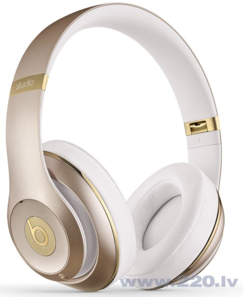 Beats By Dre Studio Wireless Gold ar mikrofonu цена и информация | Austiņas | 220.lv