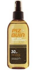 Защитный спрей лосьон Piz Buin Wet Skin Transparent SPF30 150 мл