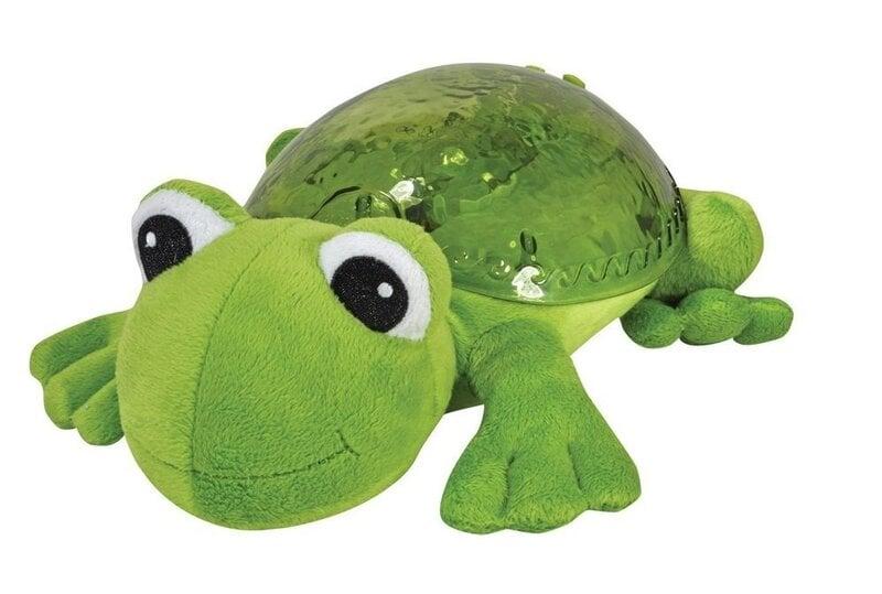 Mīksta rotaļlieta - projektors ar melodijam Cloud B Tranquil Frog™ 38739 cena un informācija | Rotaļlietas zīdaiņiem | 220.lv