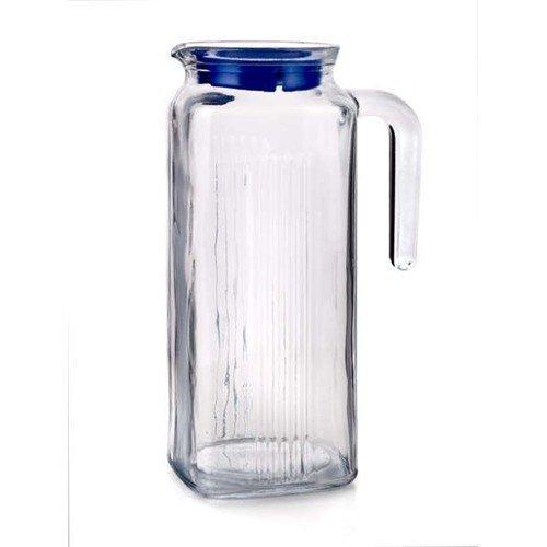 Stikla krūka Pasabahce, 1 l cena un informācija | Glāzes, krūzes, karafes | 220.lv