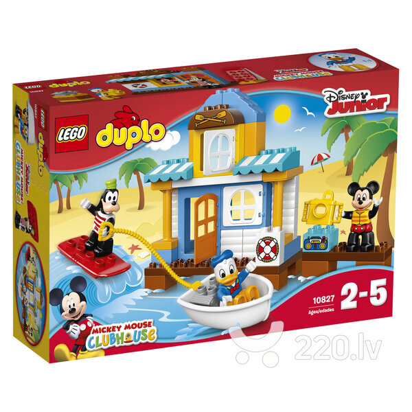 Конструктор Lego DUPLO Mickey & Friends Beach House 10827​​ цена и информация | LEGO | 220.lv