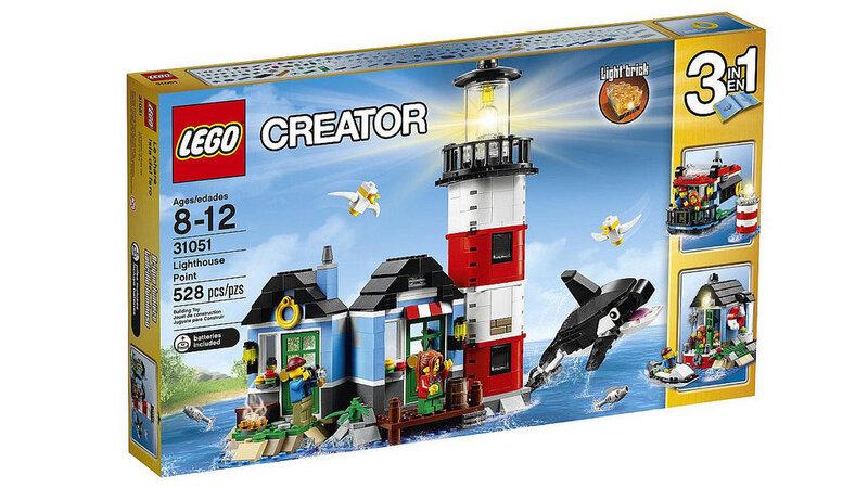 Konstruktors Lego Creator 3 in 1 Lighthouse Point 31051 cena un informācija | LEGO | 220.lv