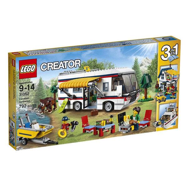 Konstruktors Lego Creator 3 in 1 Vacation Getaways 31052 cena un informācija | LEGO | 220.lv