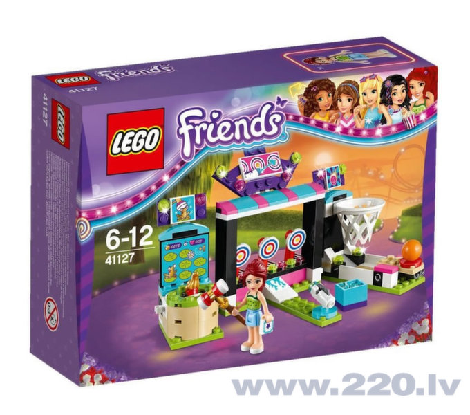 Конструктор Lego Friends Amusement Park Arcade 41127​​ цена и информация | LEGO | 220.lv