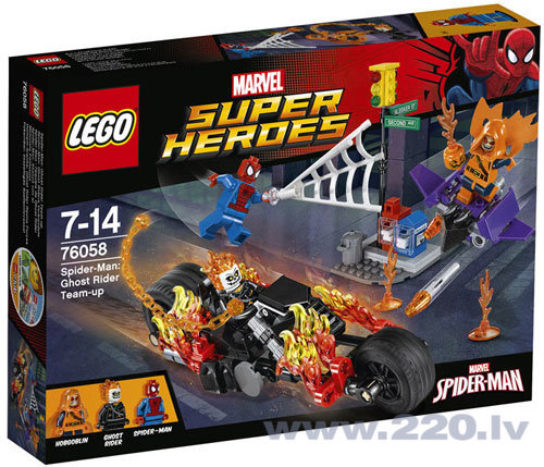 Конструктор Lego Super Heroes Spider-Man: Ghost Rider Team-up 76058 ​​ цена и информация | LEGO | 220.lv