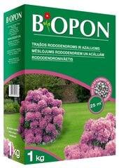 Granulēts mēslojums rododendriem un acālijām BIOPON, 1 kg