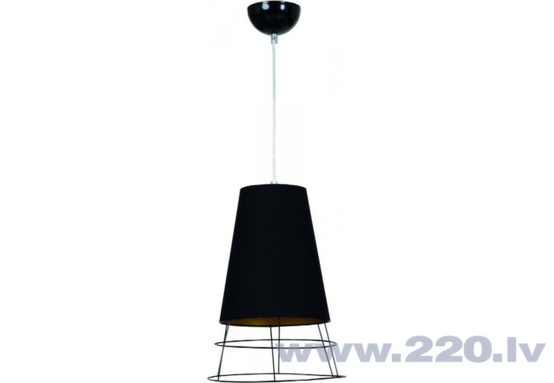 Griestu Lampa Emibig Hover Black 1 cena un informācija | Piekaramās lampas | 220.lv