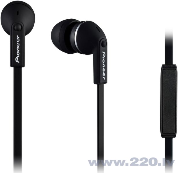 Pioneer SE-CL712T-K Deep Bass In-Ear наушники с микрофоном цена и информация | Austiņas | 220.lv