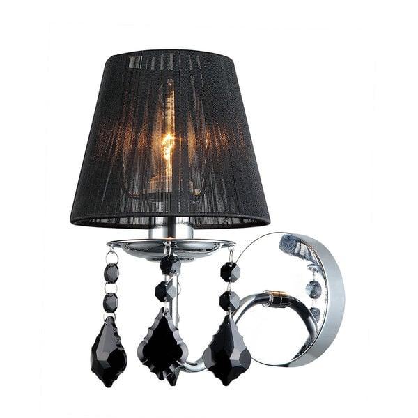 Lampa Italux Cornelia Black cena un informācija | Sienas lampas | 220.lv