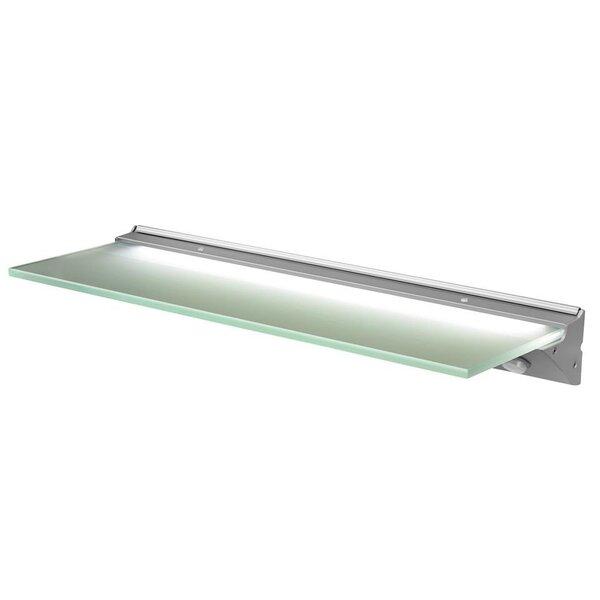 Izgaismots stikla plaukts Florence IP44 LED cena un informācija | Vannas istabas mēbeles | 220.lv