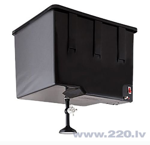 Бак с нагревателем для воды Elbet, 55л цена и информация | Vertikālie ūdens sildītāji | 220.lv