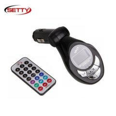 Setty Auto FM модулятор 4in1 USB / SD / Micro SD Slot / Aux 3.5mm + тонкий пульт