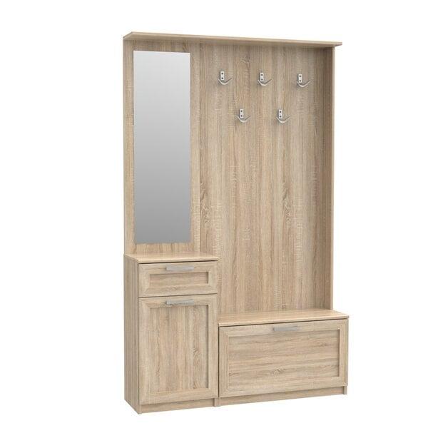 Комплект мебели для прихожей Niko цена и информация | Priekšnami | 220.lv