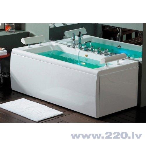 Masažas vanna ar gaisu un hidromasažu B1780-2 cena un informācija | Stūra vannas | 220.lv