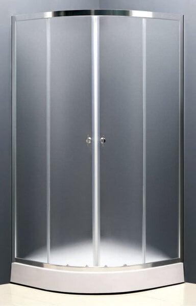 Dušas kabīne S802A 100x100 fabric cena un informācija | Stūra dušas kabīnes | 220.lv