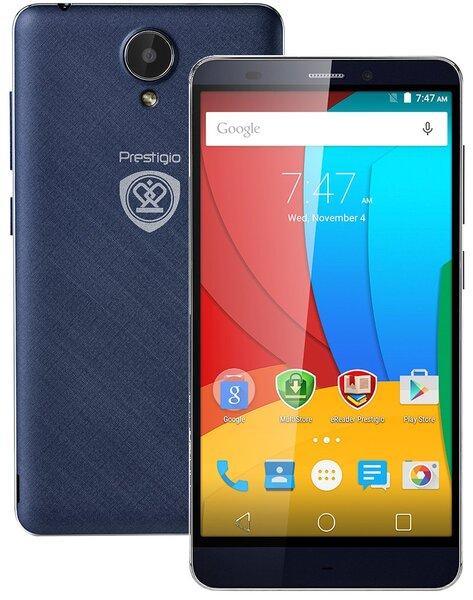 Prestigio Grace S5 Dual LTE PSP5551 Blue (Синий) цена и информация | Mobilie telefoni | 220.lv