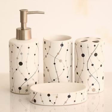 "Vannas istabas aksesuāru komplekts ""Benedomo"" cena un informācija | Vannas istabas aksesuāri | 220.lv"