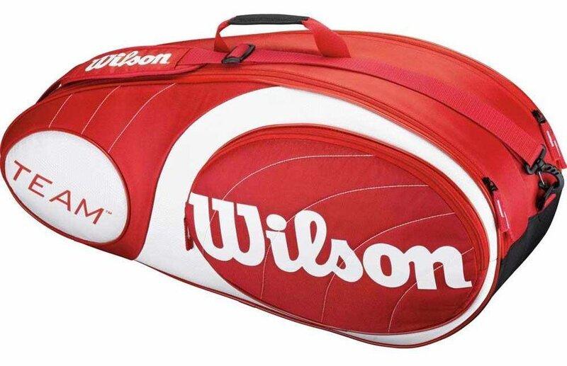 Soma tenisa raketēm Wilson Team 6PK cena un informācija | Teniss | 220.lv