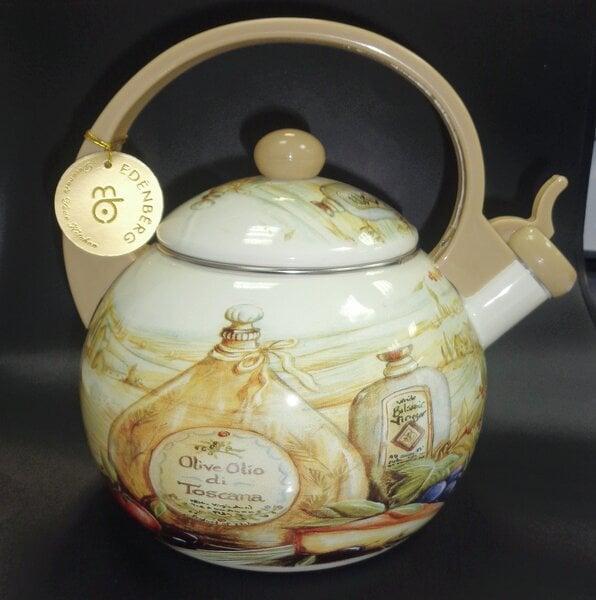 Tējkanna Toscania, 2,2 l cena un informācija | Tējkannas un kafijas kannas | 220.lv