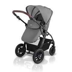 Bērnu rati Kinderkraft 3in1 MOOV, Grey
