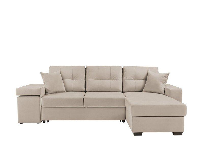 Угловой диван Collin с пуфами цена и информация | Dīvāni un krēsli | 220.lv