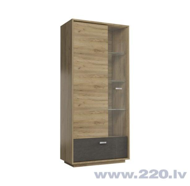Vitrīna Craft S2D cena un informācija | Skapji | 220.lv