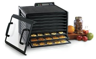 Excalibur 4948CDFB Food dehydrator, 9 trays, Timer, Black