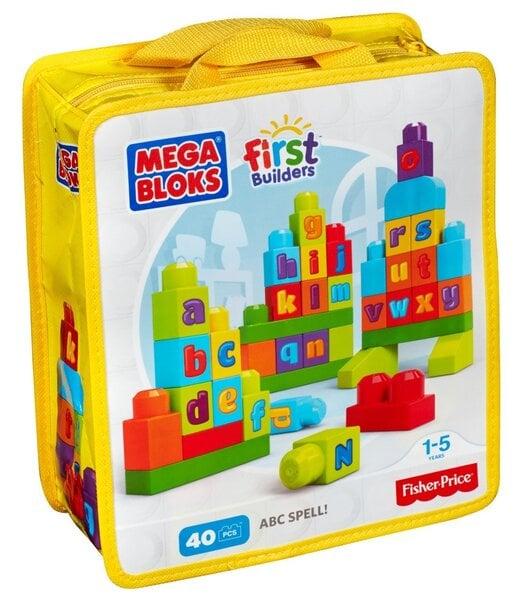Mega Bloks First Builders, ABC Spell! DKX58 cena un informācija | Konstruktori | 220.lv