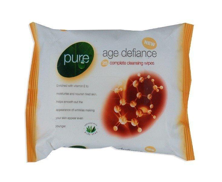 Mitrās salvetes Pure 25 gab. cena un informācija | Vates kociņi, mitrās salvetes | 220.lv